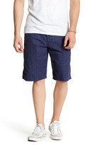 Lucky Brand Printed Utility Plain Front Short