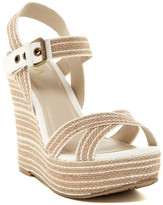 Mia Francis Platform Wedge Sandal