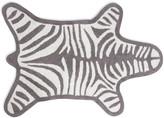 Jonathan Adler Zebra Bath Mat - Grey