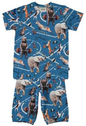 Molo Athletic Animals Thomas Pyjama Set (2-14 Years)