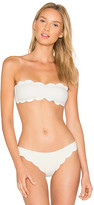 Marysia Swim Santa Monica Top in White. - size L (also in M,S,XS)
