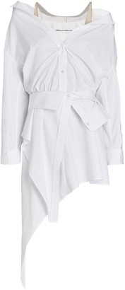 Alexander Wang Deconstructed Mini Shirt Dress