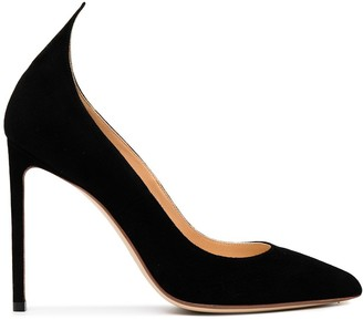 Francesco Russo Pointed-Toe Stiletto Pumps