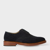 Paul Smith Men's Navy Suede 'Xander' Brogues