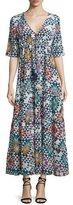 Figue Kalila Geometric-Print Maxi Dress, Multi Colors