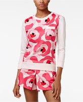 Kate Spade Three-Quarter-Sleeve Top and Shorts Pajama Set