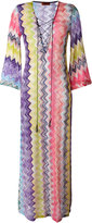 Missoni zig-zag beach cover-up