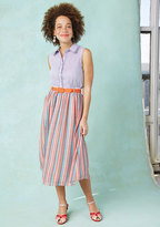 ModCloth Vibrant By Virtue Midi Skirt in 2X