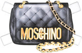 Moschino 'Trompe l'Oeil' shoulder bag - women - Calf Leather - One Size