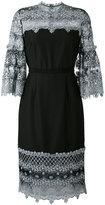 Erdem 'Kiya' dress - women - Polyester/Silk - 10