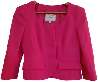 LK Bennett Pink Cotton Jacket for Women