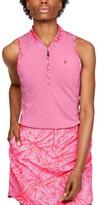 Under Armour Women's UA Zinger Zip Sleeveless Polo