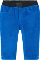 Little Marc Jacobs Micro fur tracksuit pants