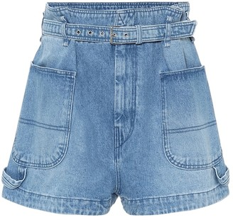 Isabel Marant Kike high-rise denim shorts