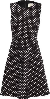 Kate Spade Flared Jacquard Dress