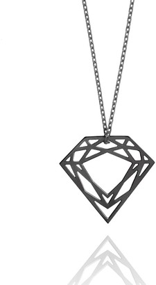 Myia Bonner Black Classic Diamond Necklace