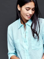 Gap Linen boyfriend shirt