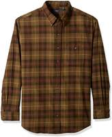 Arrow Men's Big-tall Big and Tall Long Sleeve Plaid Flannel Shirt