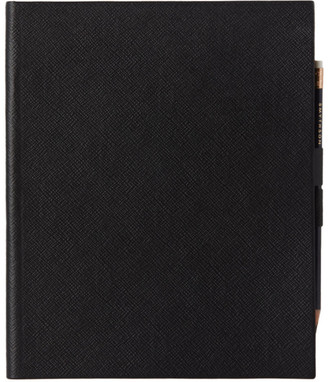 Smythson Black Portobello Sketchbook