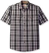 Wrangler Authentics Men's Short Sleeve Canvas Shirt