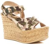 Sbicca Sneak Platform Wedge Sandal