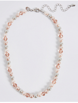 M&S Collection Pearl Effect Collar Necklace