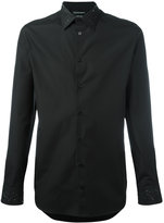 Alexander McQueen embroidered shirt - men - Cotton - 39
