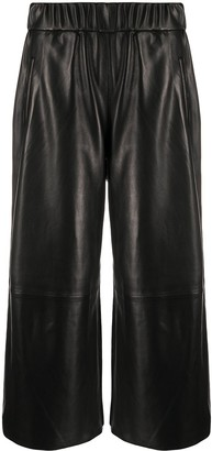 Sprwmn High-Rise Cropped Trousers
