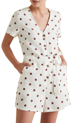 Seed Heritage Spotty Romper No