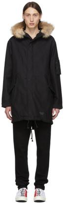 Wacko Maria Black Mods Coat