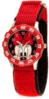 Disney Minnie Mouse Stainless Steel Time Teacher Watch - Kids