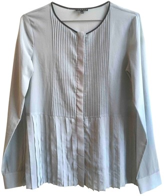 Theory Grey Silk Top for Women