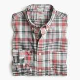 J.Crew Madras shirt in faded plaid