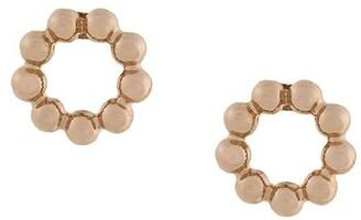 Astley Clarke beaded Stilla stud earrings