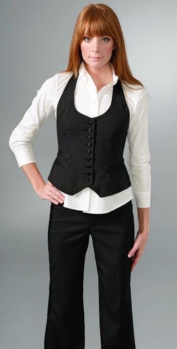 WS Badger Company Nanette Lepore Last Dance Vest