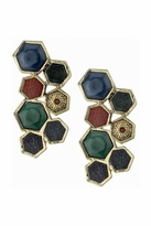 House Of Harlow Multicolored Rhodium Earrings