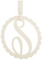 Mud Pie Scalloped Initial Wall Hanger - S