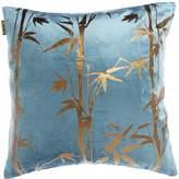 Biba Bamboo Foil Cushion Teal