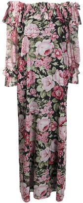 P.A.R.O.S.H. Floral Maxi Dress
