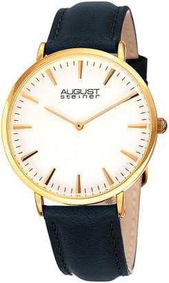 August Steiner Women's Leather Watch