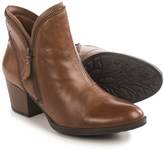 Earth Hawthorne Ankle Boots - Leather, Side Zip (For Women)