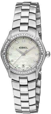 Ebel Women's 9953Q24/99450 Classic Sport Mother-Of-Pearl Dial Diamond Watch