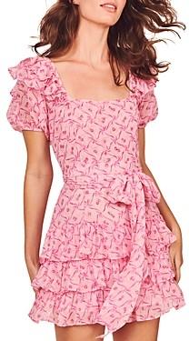 LoveShackFancy Kimbra Silk Dress