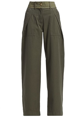 Sacai Wide Combo Cargo Pants