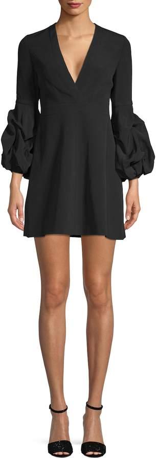 Alexis Women's Fia Gathered Cuff Mini Dress