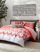 Trina Turk Hollyhock Ikat Three-Piece Duvet Set