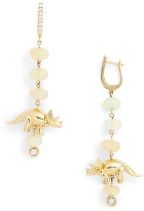 Daniela Villegas x Jurassic Park 25th Anniversary Sweet Triceratops Drop Earrings