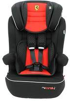MyCarSit Ferrari High Back Booster Seat with Isofix Harness, Red