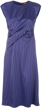 Sies Marjan Gathered Detail Midi Dress