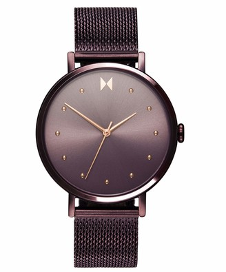 MVMT Women's Analogue Quartz Watch with Gold Tone Stainless Steel Strap 28000032-D